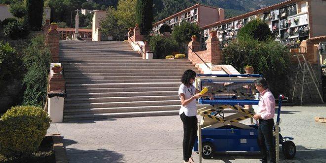 Cocentaina dota al Cementerio Municipal de nuevos servicios