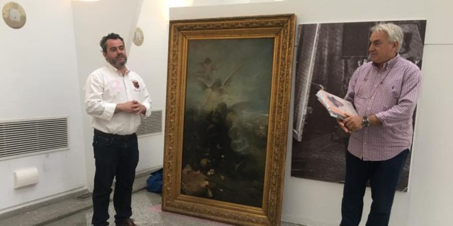 Alcoy adquiere la obra de Cabrera 'La Muerte de un Santo'