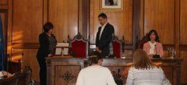 Vicky Llàcer toma posesión del cargo de edil de Guanyar Alcoi