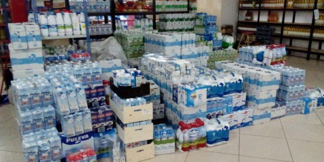 La Campaña de recogida de leche de Cáritas supera todas las previsiones