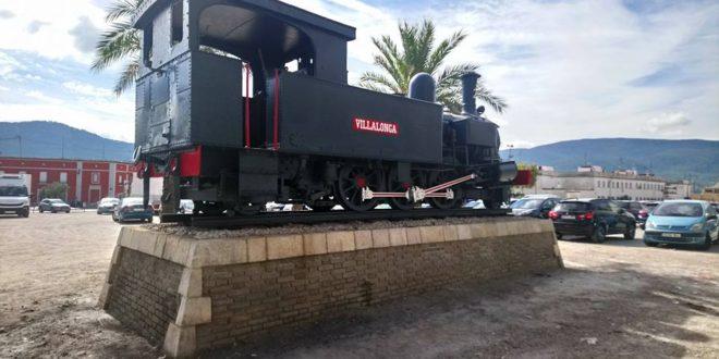 Concluye la primera fase de restauración de la locomotora del 'Xitxarra'