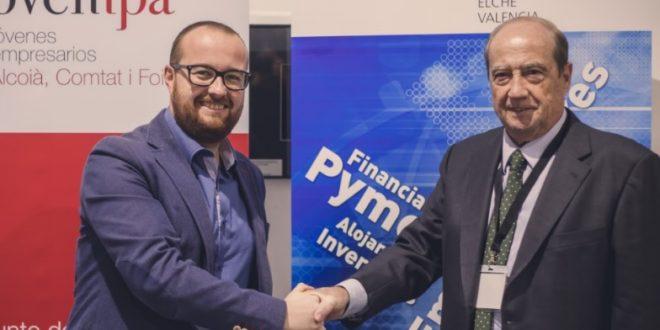 JOVEMPA y el CEEI firman un convenio de colaboración