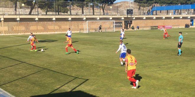 El Alcoyano gana con holgura ante el Deportivo Aragón