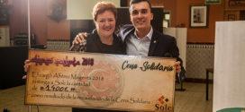 La Filà Magenta celebró una cena solidaria a beneficio de SOLC
