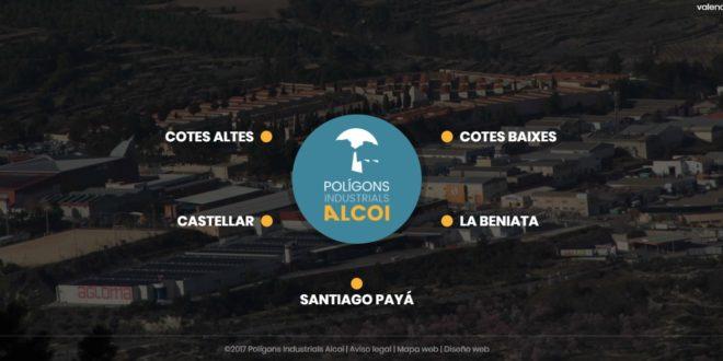 Alcoy cuenta con una web para ofrecer información sobre los Polígonos Industriales