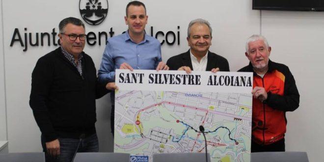 Más de 600 participantes en la San Silvestre de Alcoy