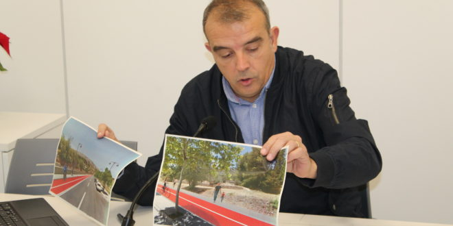 Alcoy proyecta una ruta ciclopeatonal por el interior del casco urbano