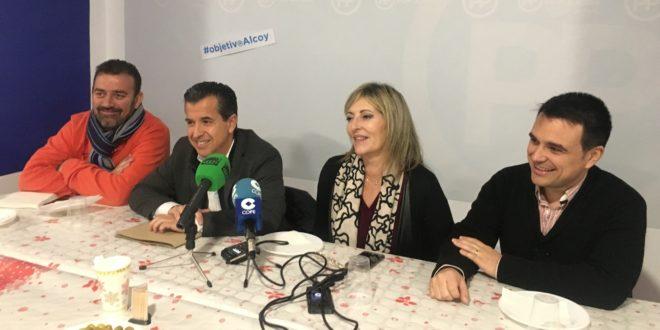 El PP reclama la puesta en marcha de proyectos estratégicos para Alcoy