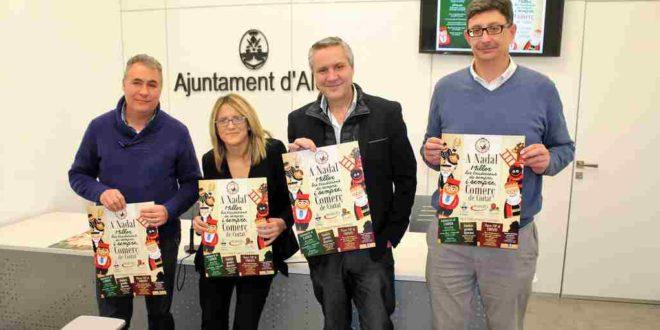 Tirisiti dinamiza el comercio local de Alcoy durante la Navidad