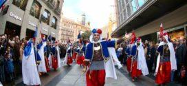 Cocentaina y la Filà Bequeteros conquistan el Centro de Madrid