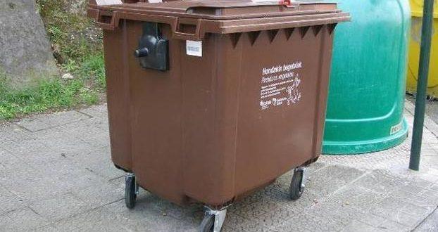 Alcoy implantará el contenedor marrón para la recogida de basura orgánica