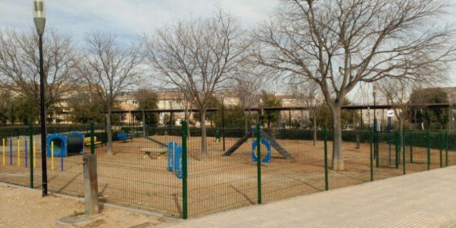 Cocentaina estrenará un parque para perros en la zona del Ferrocarril