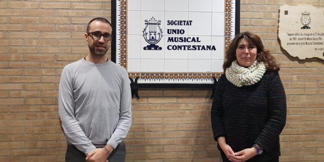 Saül Gómez i Soler, nuevo director de la Unión Musical Contestana