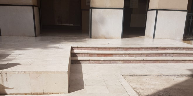 El PP lamenta la falta de accesibilidad al Centro de Mayores de Oliver y la sede de la AECC