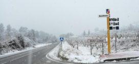 Alerta por viento, lluvias y nieve en el interior de Alicante