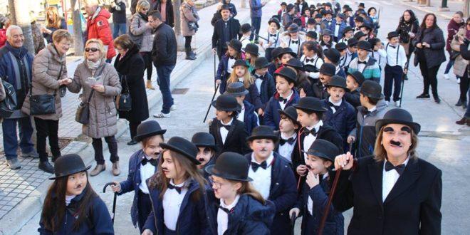 Los escolares de Alcoy disfrutaron del Carnaval