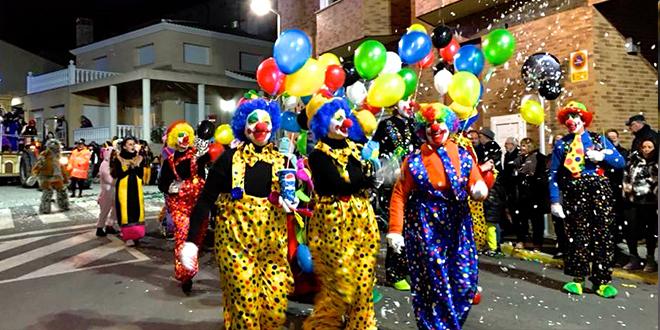 Muro vibró al ritmo del gran desfile de Carnaval