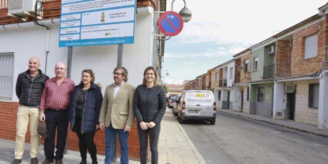 Muro renovará varias calles del barrio de La Virgen con una inversión de 561.000 euros