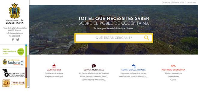 Cocentaina incorpora el portal de empleo de la Manco a la web municipal