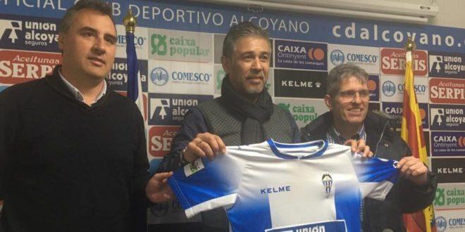 Mario Barrera ya es el nuevo entrenador del Alcoyano