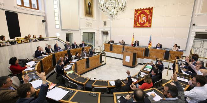 La Diputación presenta un Presupuesto de 214 millones para el año 2019