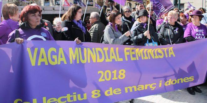 Alcoy reivindica en la calle plena igualdad entre mujeres y hombres