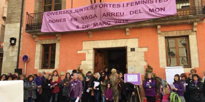 La comarca lanza sus reivindicaciones en el Día de la Mujer Trabajadora