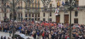 Lleno en La Bandeja para reivindicar unas pensiones dignas