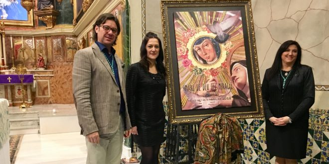 Noelia Marset Castelló traza el cartel anunciador de las Fiestas de la Mare de Déu