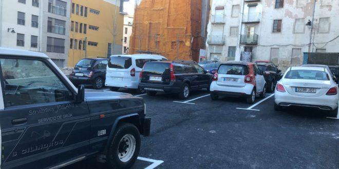 Estudian la creación de bolsas de aparcamiento en el Centro de Alcoy