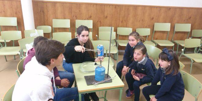 Alumnos de La Salle participan en la jornada 'La Salle sueña Ciencia'