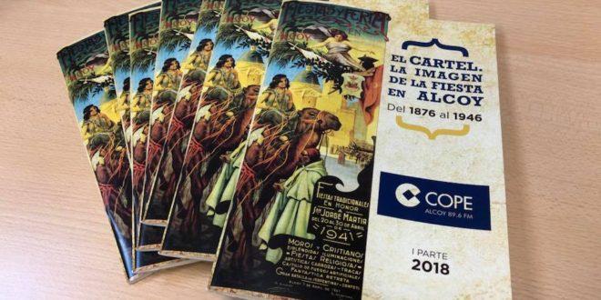 Cope Alcoy recopila en una colección los carteles de las Fiestas de San Jorge