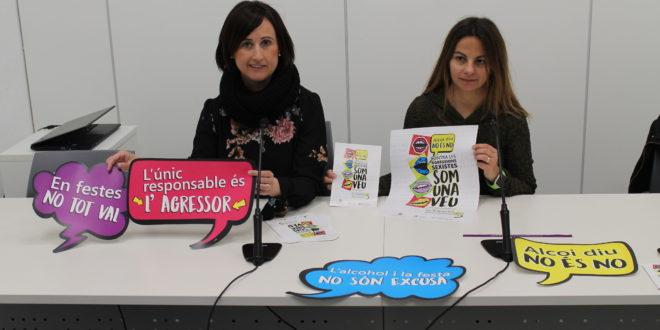 El Ayuntamiento califica de éxito la campaña contra las agresiones sexistas