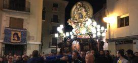 Cocentaina acompaña a la Mare de Déu en el retorno a su Monasterio