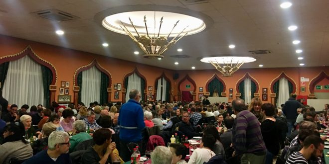Más de 350 personas participaron en el Ensayo Soliario de Alcoy