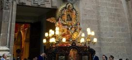 Paso solemne de la Mare de Déu del Miracle por el casco antiguo de Cocentaina