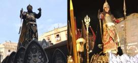 Los moros exhiben su fuerza en la Entrada de Al-Azraq a Alcoy