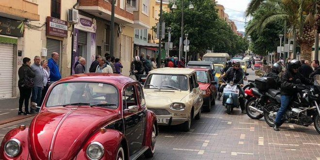 Gastronomía y coches clásicos se fusionan en Cocentaina