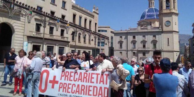 Nueva concentración en Alcoy para exigir unas pensiones públicas dignas