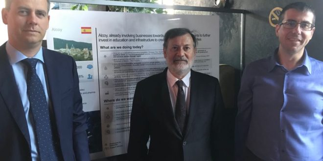 Alcoy presentó en Bruselas su proyecto de ciudad inteligente