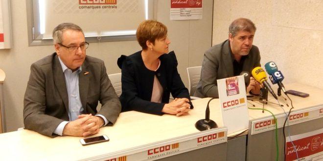 CCOO insta a la movilización para reclamar un reparto justo de la riqueza