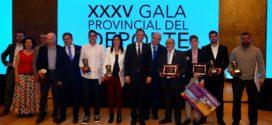 María Bernabéu y Jorge Ureña, Mejores Deportistas de 2017 en la provincia