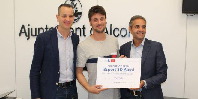 El cartel de Óscar Climent anunciará el Esport en 3D de Alcoy