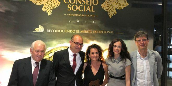 La UA reconoce la labor social y divulgativa de la sede de Cocentaina