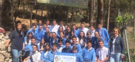 Los alumnos del Sant Vicent de Paúl dejan su huella solidaria