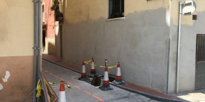 Cocentaina mejora la accesibilidad de la calle Sant Cristòfol