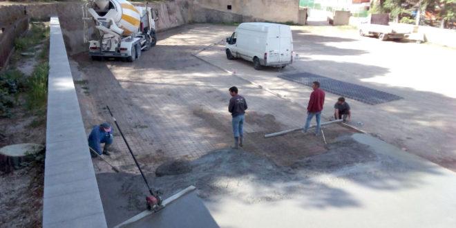 Nuevo pavimento para el parque 'Villa Rosario' de Banyeres