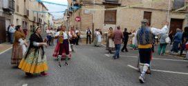 Todo preparado para las tradicionales 'Danses de Palacio' de Muro