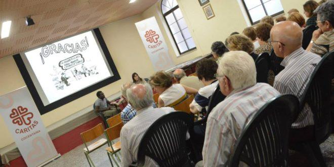 Cáritas Cocentaina prestó servicio a 399 personas durante el año 2017