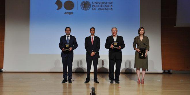 Alcoy recibe la Medalla de la UPV en el 50 aniversario de la institución